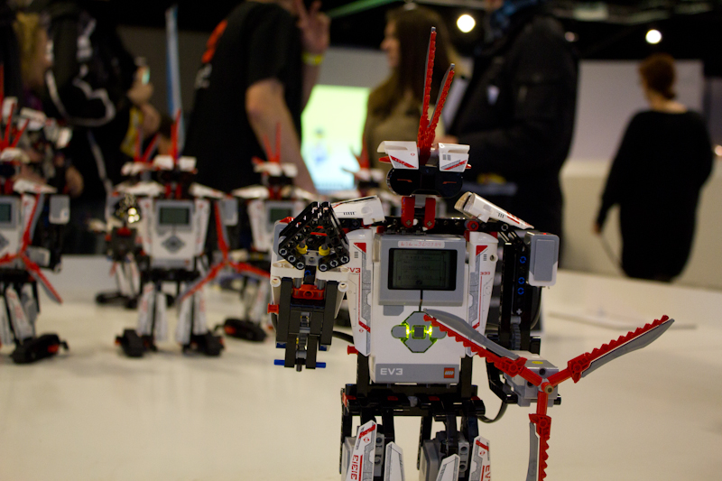 A whole army of EV3's