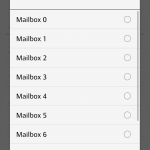 Select the mailbox to use